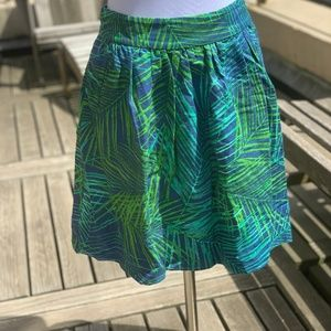 Palm Skirt with pockets